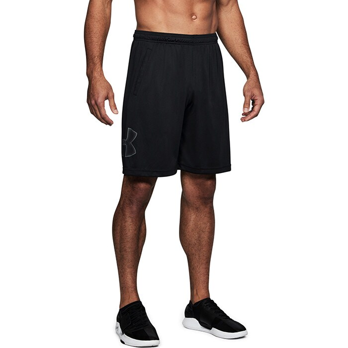 UA Tech Graphic Short, Black