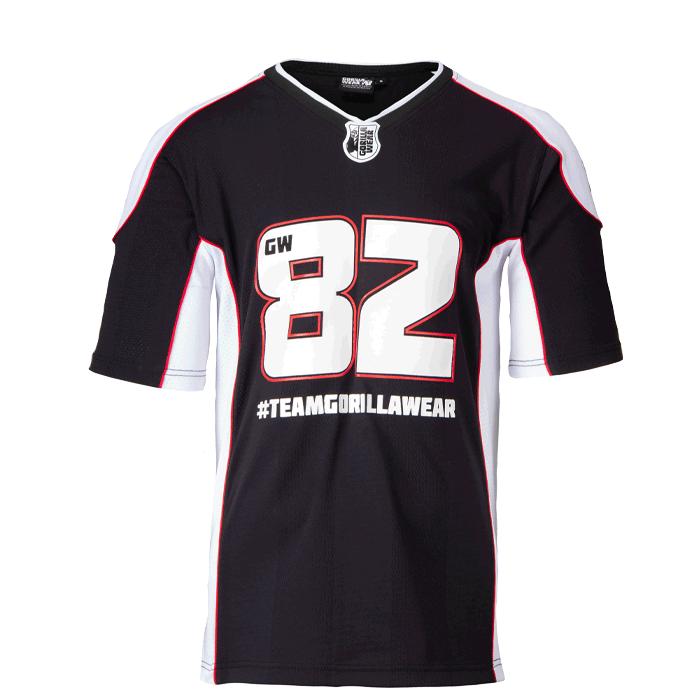 Athlete T-Shirt 2.0 Gorilla Wear, Black/White