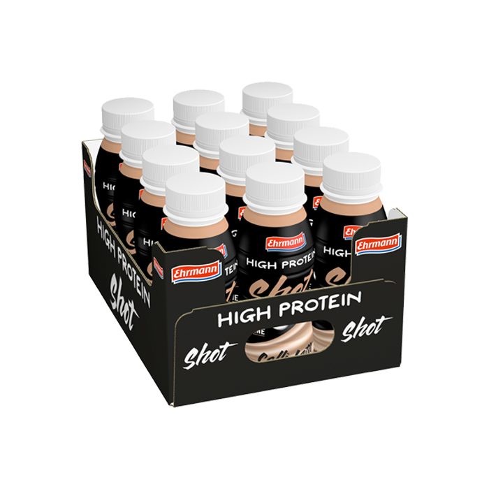 12 x Ehrmann High Protein Drink, 250 ml, Chocolate