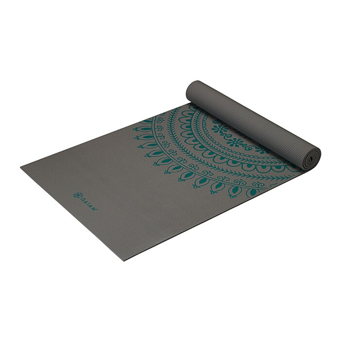 6mm Yoga Mat Teal Marrakesh Longer/Wider