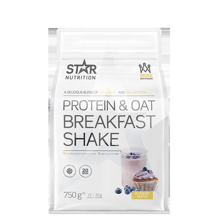 Protein & Oat Breakfast Shake, Blueberry Muffin, 750 g
