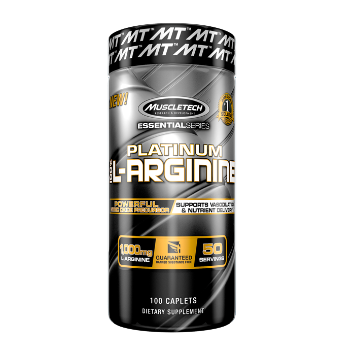 100% Platinum L-Arginine, 100 caps