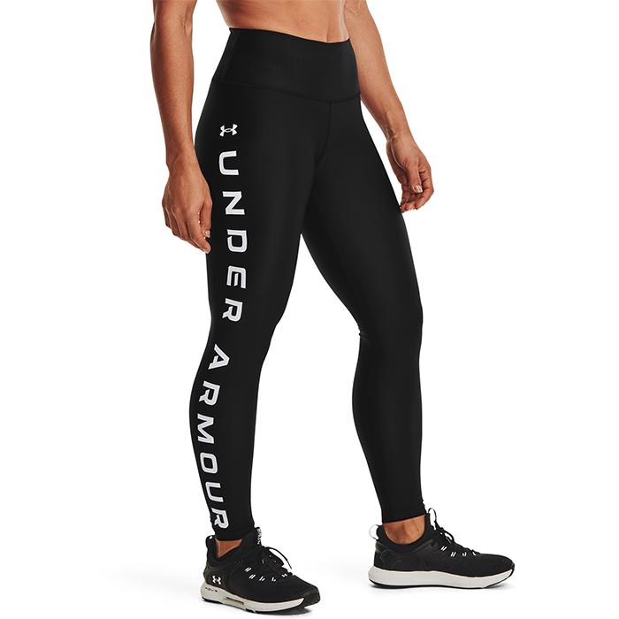UA HG Armour Branded Leggings NS, Black