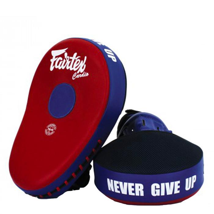 Fairtex FMV13 Focus Mitts, Red/Blue