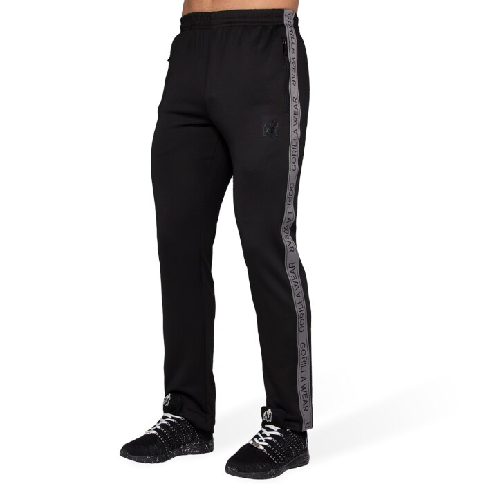 Wellington Track Pants, Black