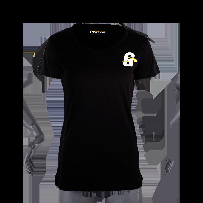 Gymgrossisten T-shirt, Black, Dam