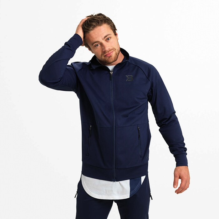Varick Zip Jacket, Dark Navy