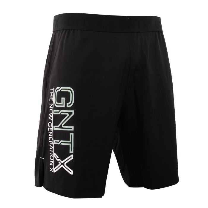 GNTX X-Shorts, Black/Mint, Men