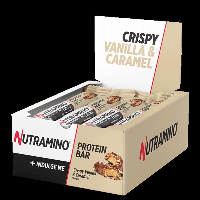 12 x Nutramino ProteinBar Crispy, 64 g