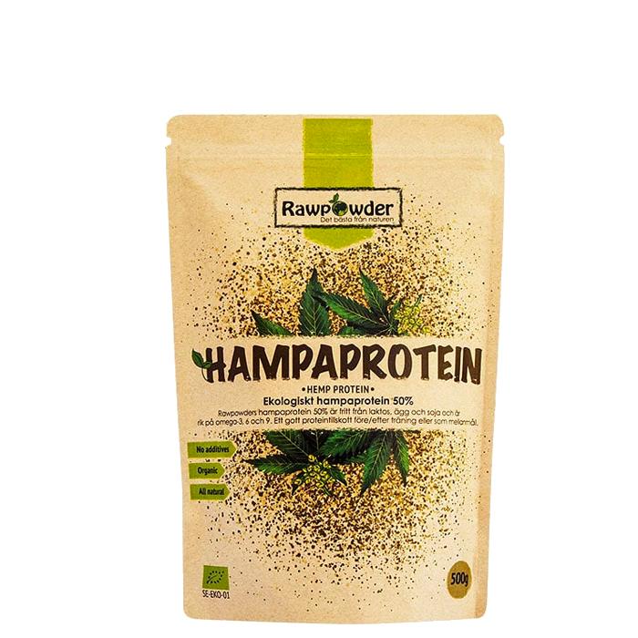 Hampaprotein 50% EKO, 500 g