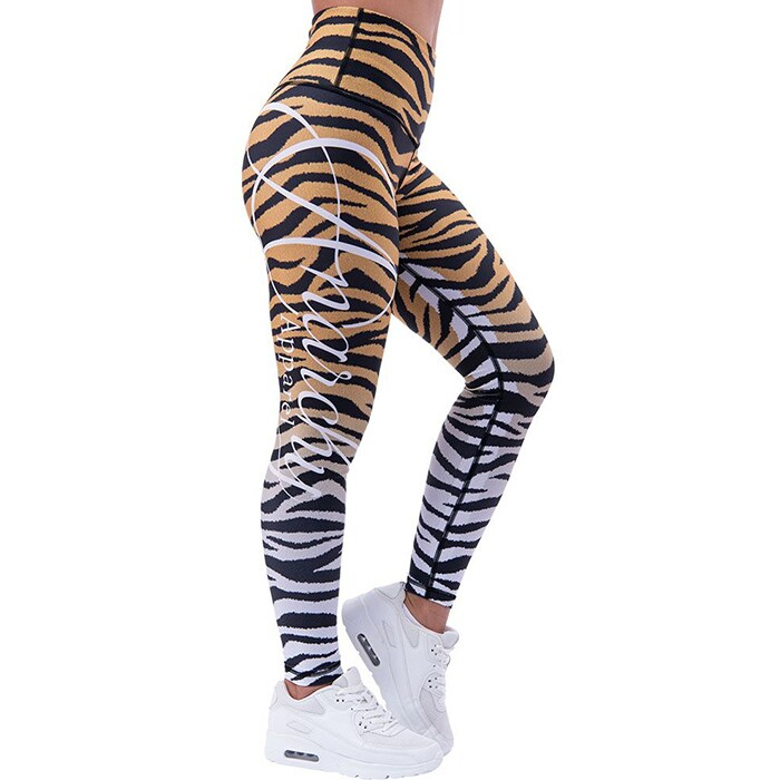 Tigress Leggings, Black/Yellow