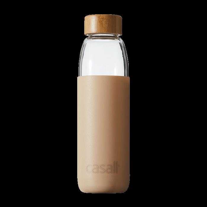 Casall Fresh Glass Bottle 0,5L, Focus Beige
