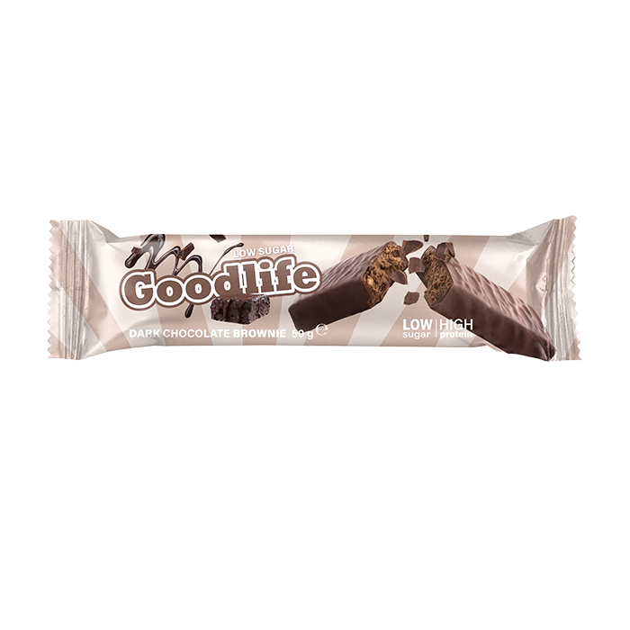 Goodlife Low Sugar, 50 g Dark Chocolate Brownie