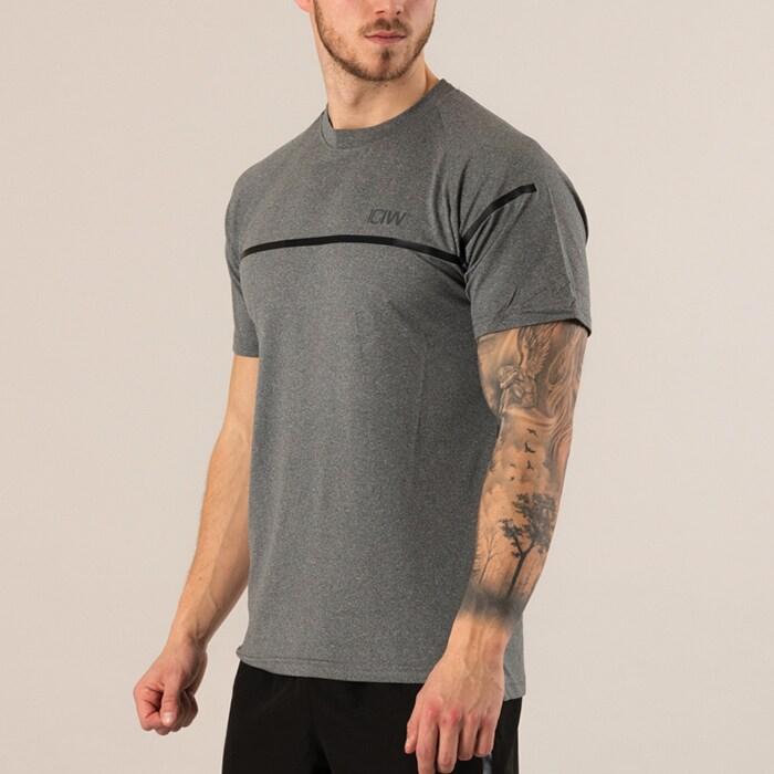 ICIW Training T-Shirt, Greymelange