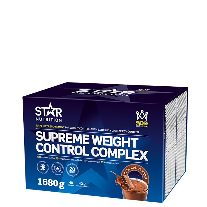 Supreme Weight Control Complex, 40 servings Choklad