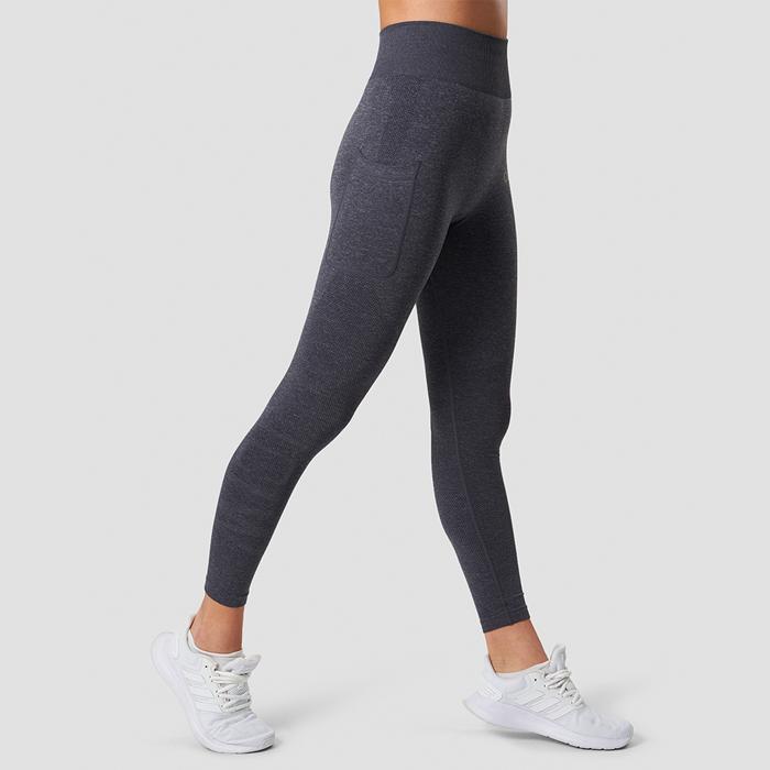 Define Pocket Tights, Grey Melange