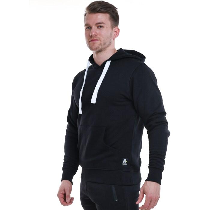 Gymgrossisten Pullover Hood, Black