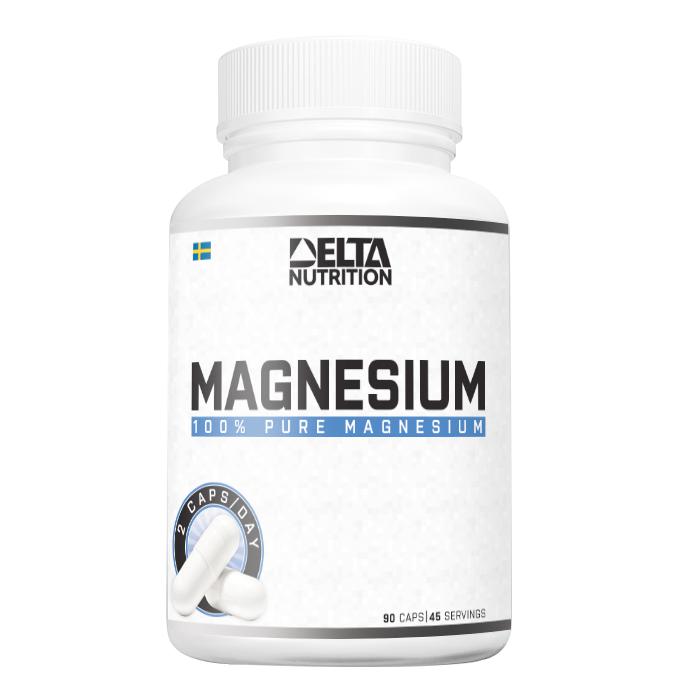 100% Pure Magnesium, 90 caps
