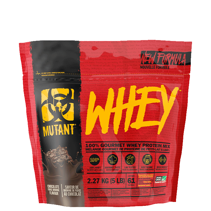 Mutant Whey 2.27kg Strawberry Cream