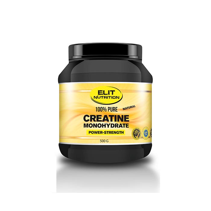 ELIT 100% Pure Creatine monohydrate, 500 g