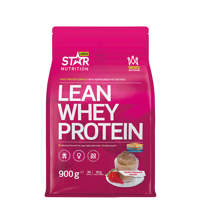 Lean Whey Protein, 900 g Double Chocolate Mousse