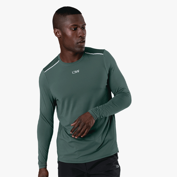 Lightweight Training LS, Dark Green
