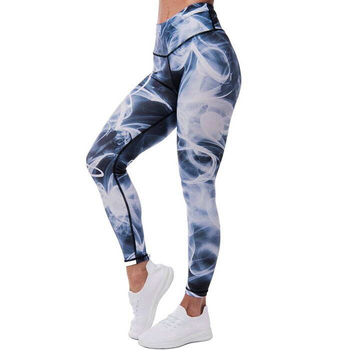 Miasma Leggings, Black/White