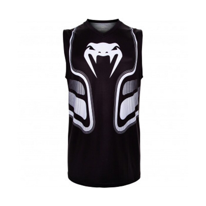 Venum Tempest 2.0 Dry Tech Tank Top, Black/White